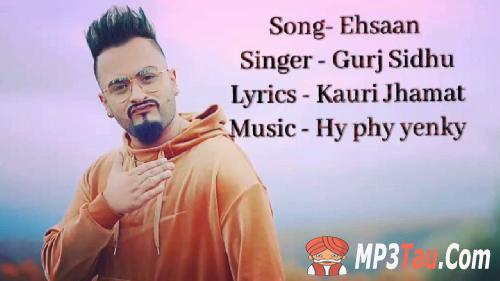Ehsaan Gurj Sidhu mp3 song lyrics