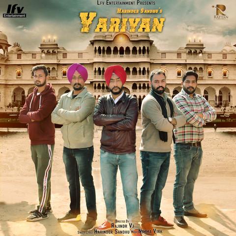 Yarian Harinder Sandhu mp3 song lyrics