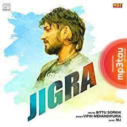 Jigra Vipin Mehandipuria mp3 song lyrics